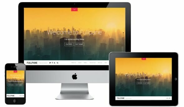 Themify - Fullpane WordPress Theme