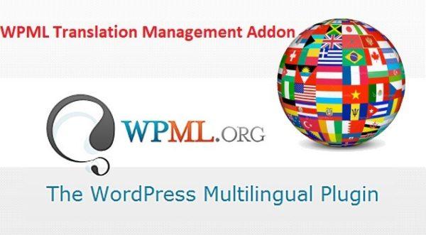 WPML Multilingual Translation Management Addon