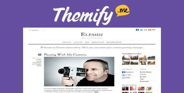 Themify Elemin WordPress Theme