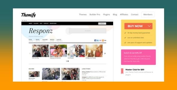 Themify - Responz WordPress Theme