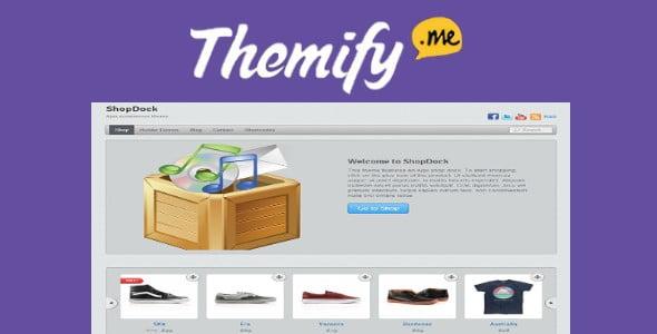 Themify Shopdock WooCommerce Theme
