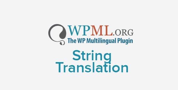 WPML WordPress Multilingual String Translation Addon