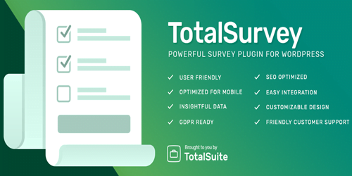TotalSurvey WordPress Survey Plugin